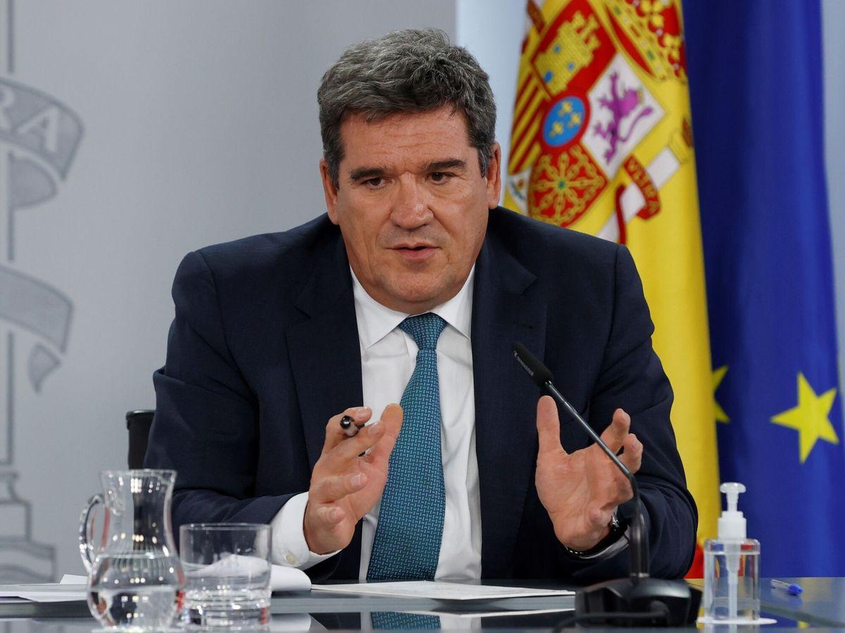 Foto: El ministro de Inclusión, Seguridad Social y Migraciones José Luis Escrivá (EFE)