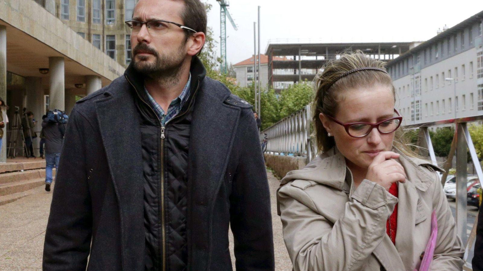 Foto: Antonio Lago y Estela Ordoñez, los padres de Andrea. (EFE)