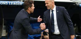 Post de El garabato de Simeone: solo Oblak y Griezmann jugarían en el Madrid