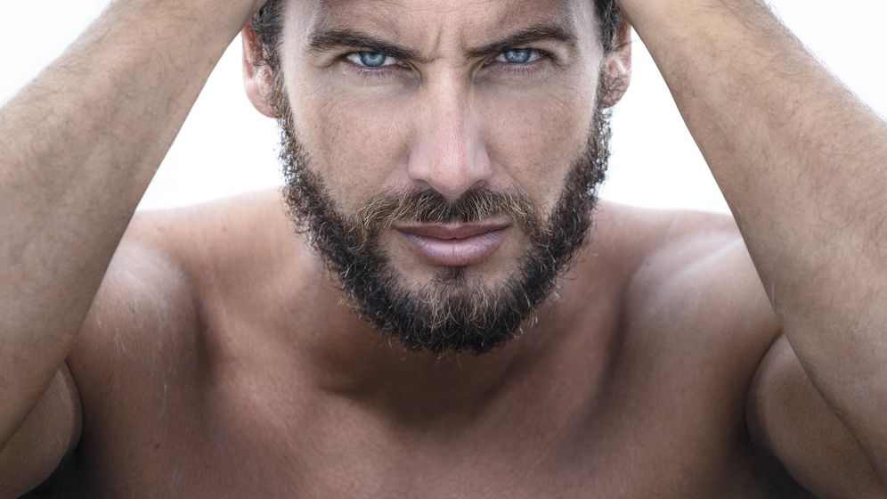 Foto: La barba aporta agresividad al rostro. (iStock)