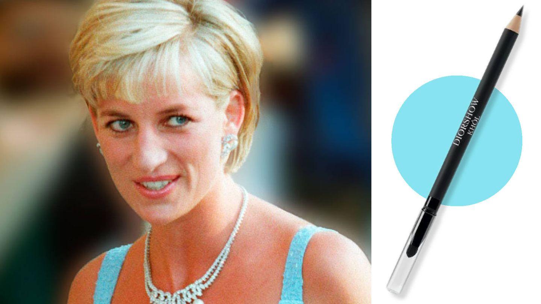 Diana delineaba su párpado superior e inferior con un lápiz de ojos tipo khol. (Reuters)