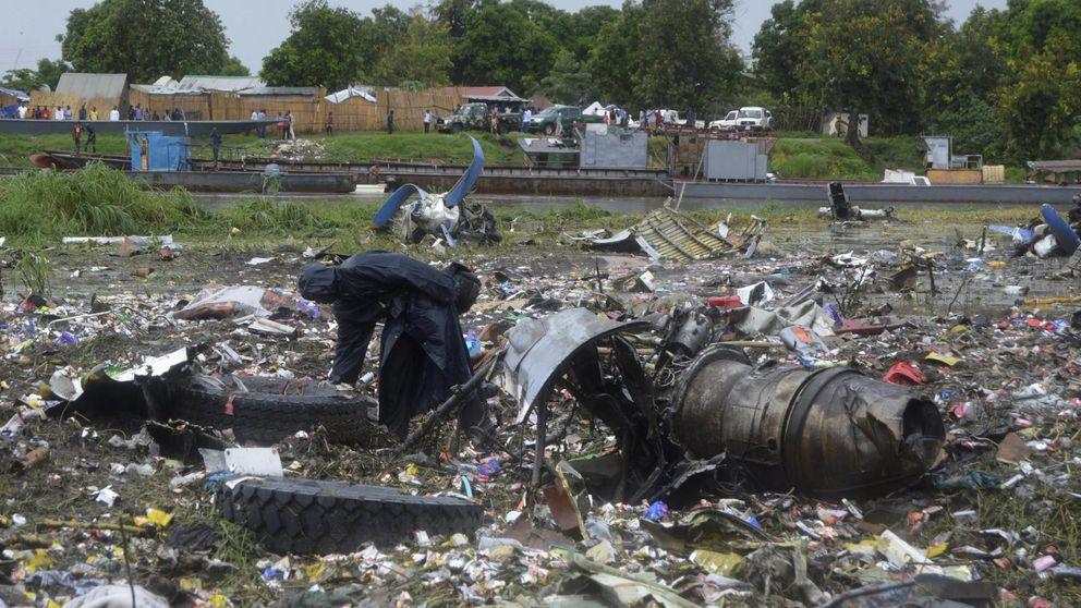 Al menos 40 muertos al estrellarse un avión de carga en Sudán del Sur