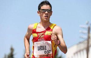 Diego García , la gran promesa que pone en marcha al atletismo español