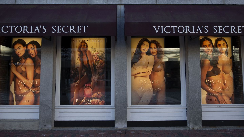 Escaparate de Victoria's Secret en Boston.   (EFE)