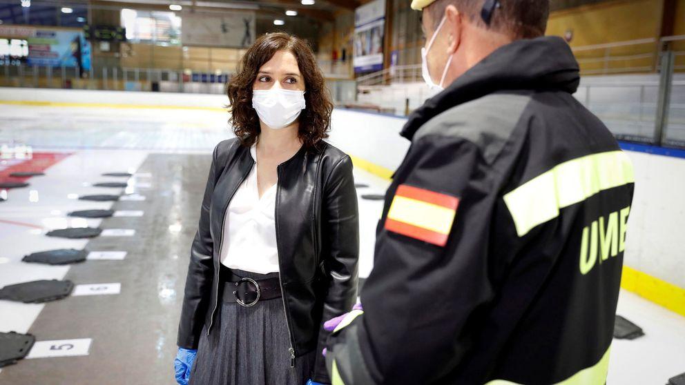 Ayuso analiza las actuaciones en las residencias de Madrid y no descarta ceses