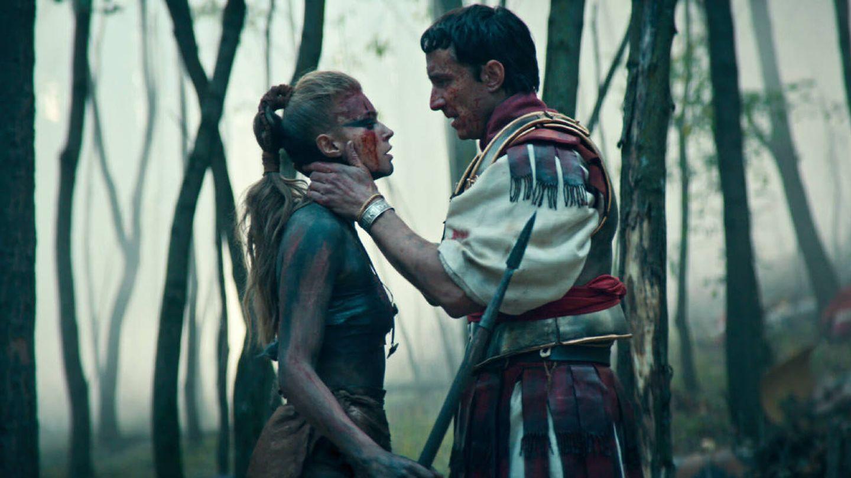 Thusnelda y Arminio en 'Bárbaros'. (Netflix)