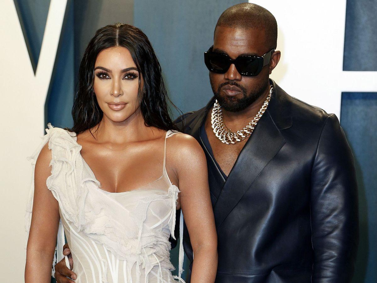 Foto: Kim Kardashian y Kanye West, en una imagen de archivo. (EFE)