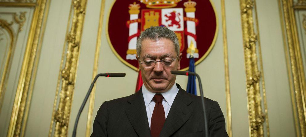 Foto: El exministro de Justicia, Alberto Ruiz-Gallardón. (EFE)