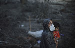 Israelíes y palestinos en la guerra sin fin: así es vivir bajo las bombas