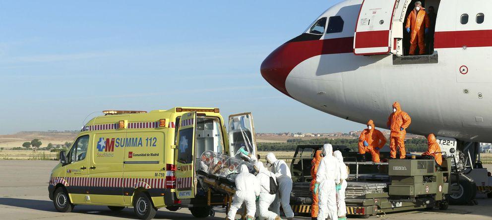 Foto: El misionero español infectado de ébola llega a Madrid. (EFE)