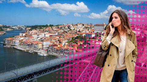 Sara Carbonero y sus dos pasiones en Oporto: Martin y Lucas