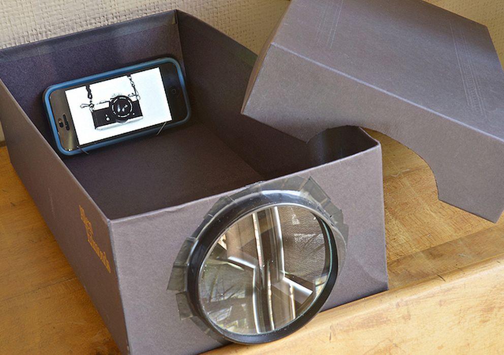 Móviles: Cómo hacer un proyector para el móvil con una caja, una ...