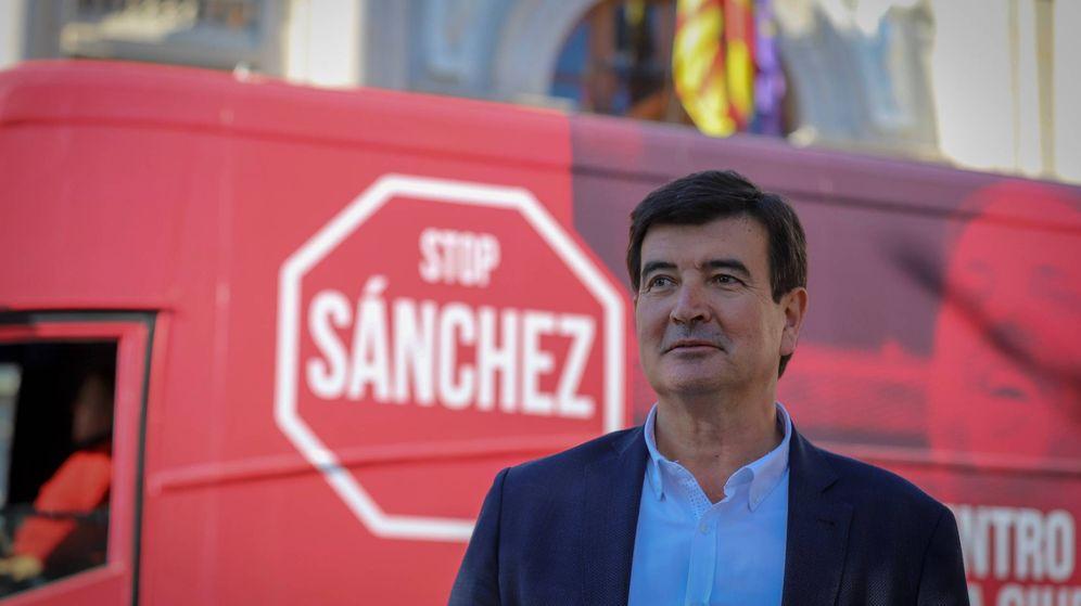 Foto: Fernando Giner, candidato de Ciudadanos a la alcaldía de Valencia.