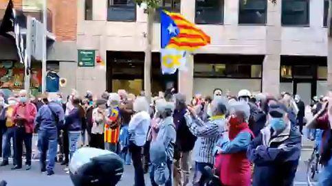 El independentismo se rompe en la calle: Junqueras, traidor, púdrete en prisión