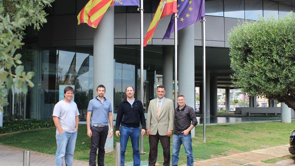 Foto: Alejandro García, José Tejada, Raúl Babí, Joan Miquel Masses y Juan Vicente Sabater. (EC)