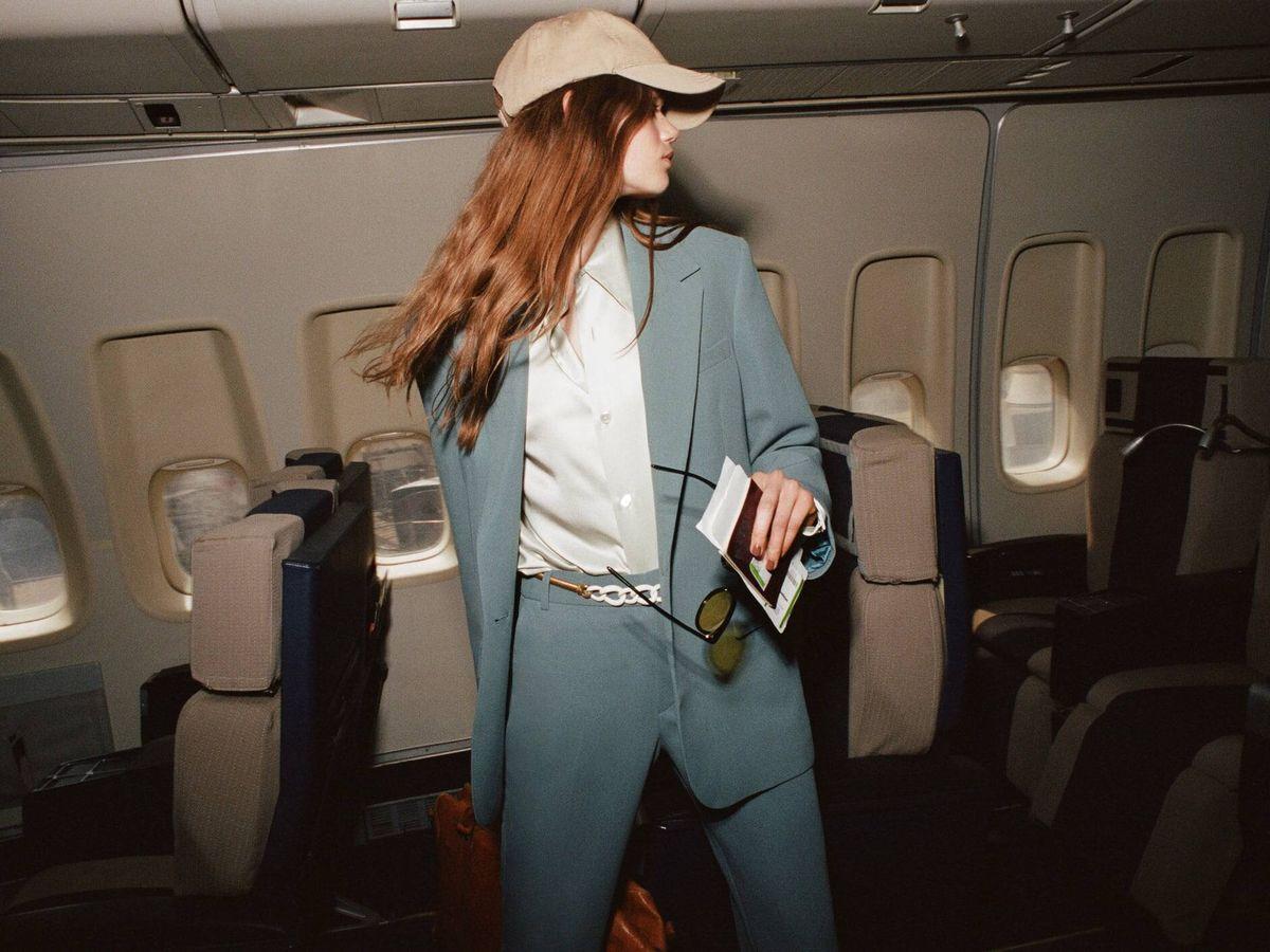 Foto: Traje de la nueva colección de Zara. (Cortesía)