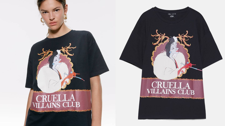 Camiseta de la nueva temporada de Zara. (Cortesía)