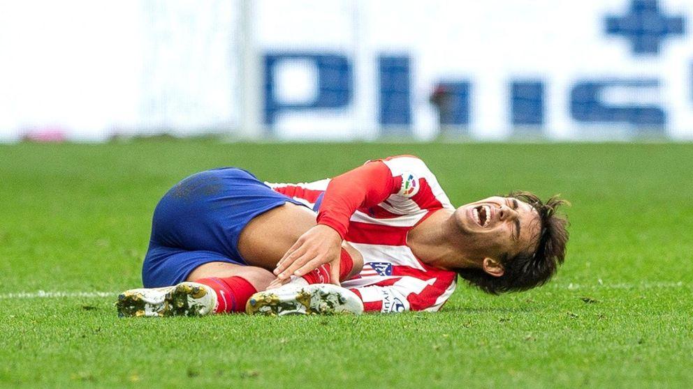 La desgraciada lesión de Joao Félix que enciende todas las alarmas en el Atlético