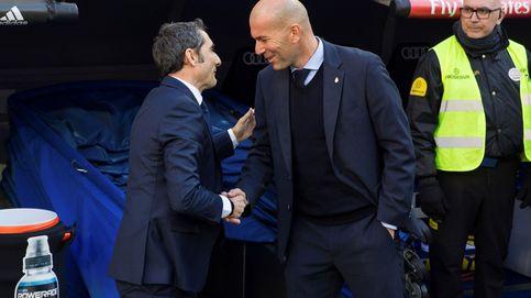 Zidane versus Valverde, competencia entre entrenadores para ver quién es más 'normal'