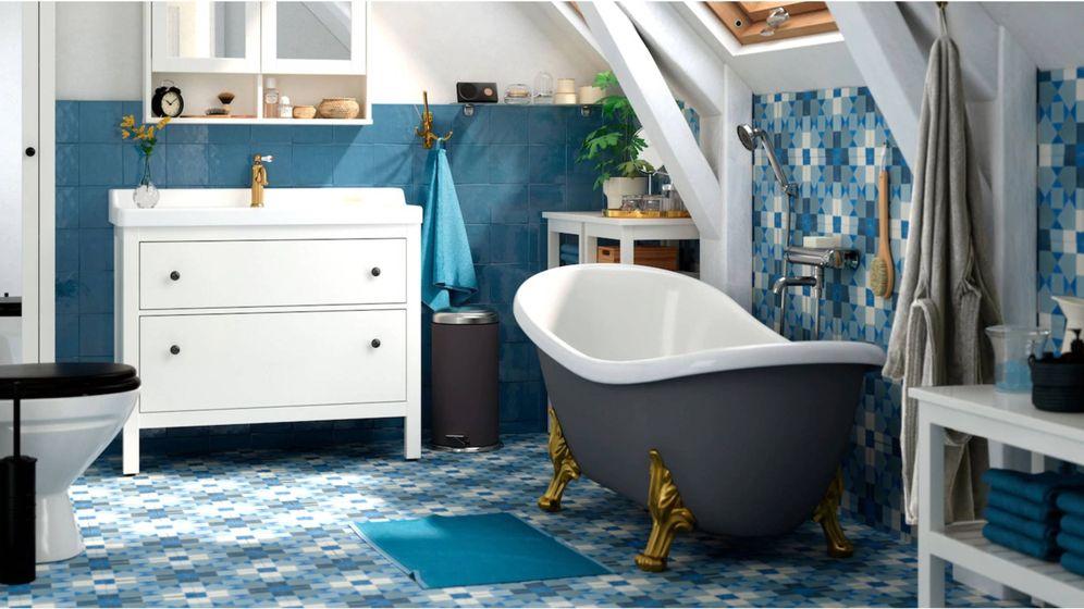 Foto: Ikea convierte tu baño en un spa. (Cortesía)