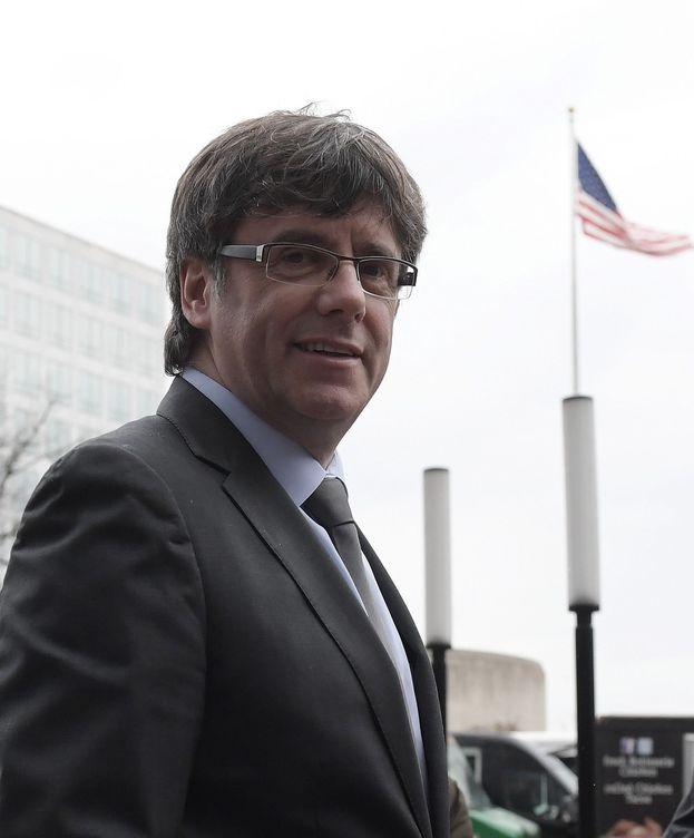 Foto: Puigdemont durante su visita a Washington DC. (EFE)