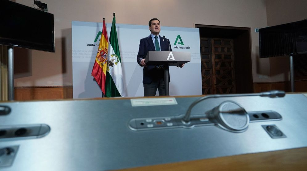 Foto: Moreno pide a sánchez más participación de las comunidades en las decisiones. (EFE)