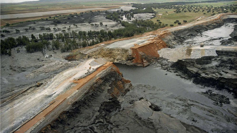 Foto: Desastre de Aznalcóllar. (Efe)