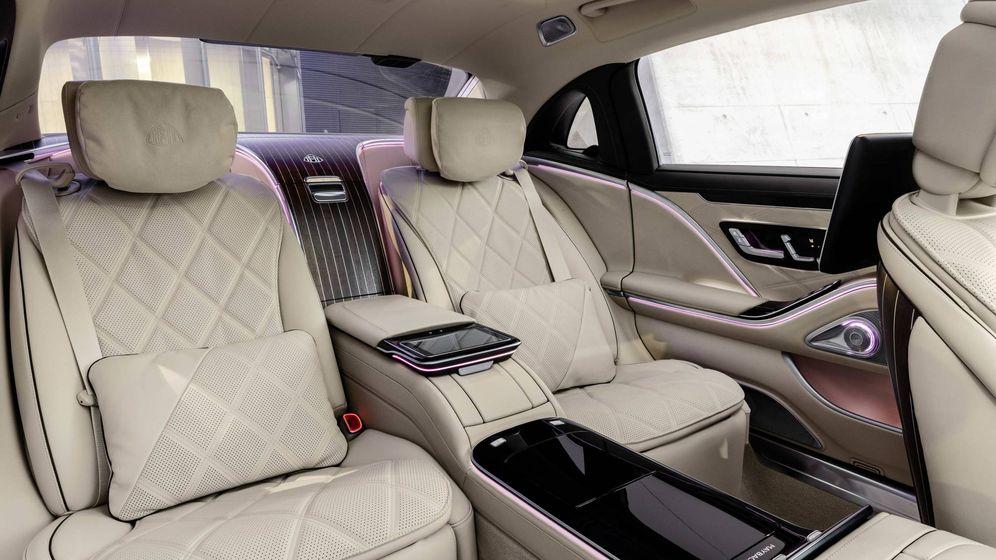 Foto: Las mejores plazas del nuevo Mercedes Maybach Clase S son las traseras, por espacio y por confort.