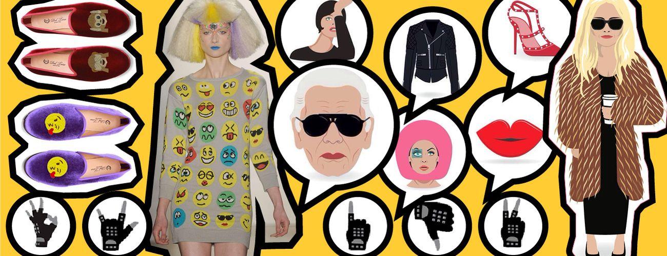 Foto: Desciframos la cultura del emotITcono, por si no controlas el mundo 'Emoji Fashion'
