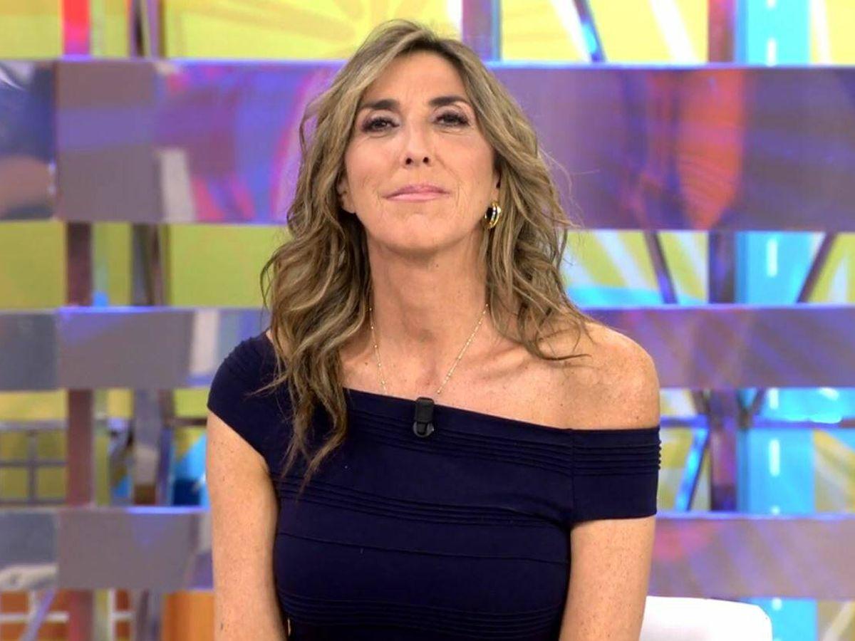 Foto: Paz Padilla, presentadora de 'La última cena'. (Mediaset España)