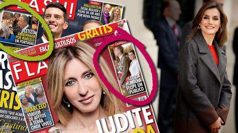 Seis meses y una visita de Estado separan estas dos portadas de Letizia