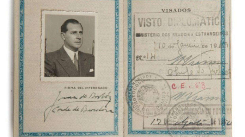Pasaporte subastado (Lamas Bolaños)