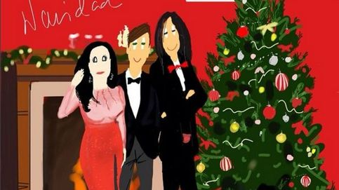 Instagram - La felicitación navideña de Alaska y Mario