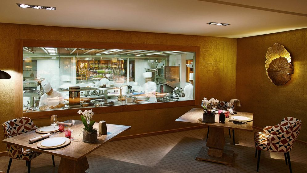 Foto: Restaurante Santceloni.