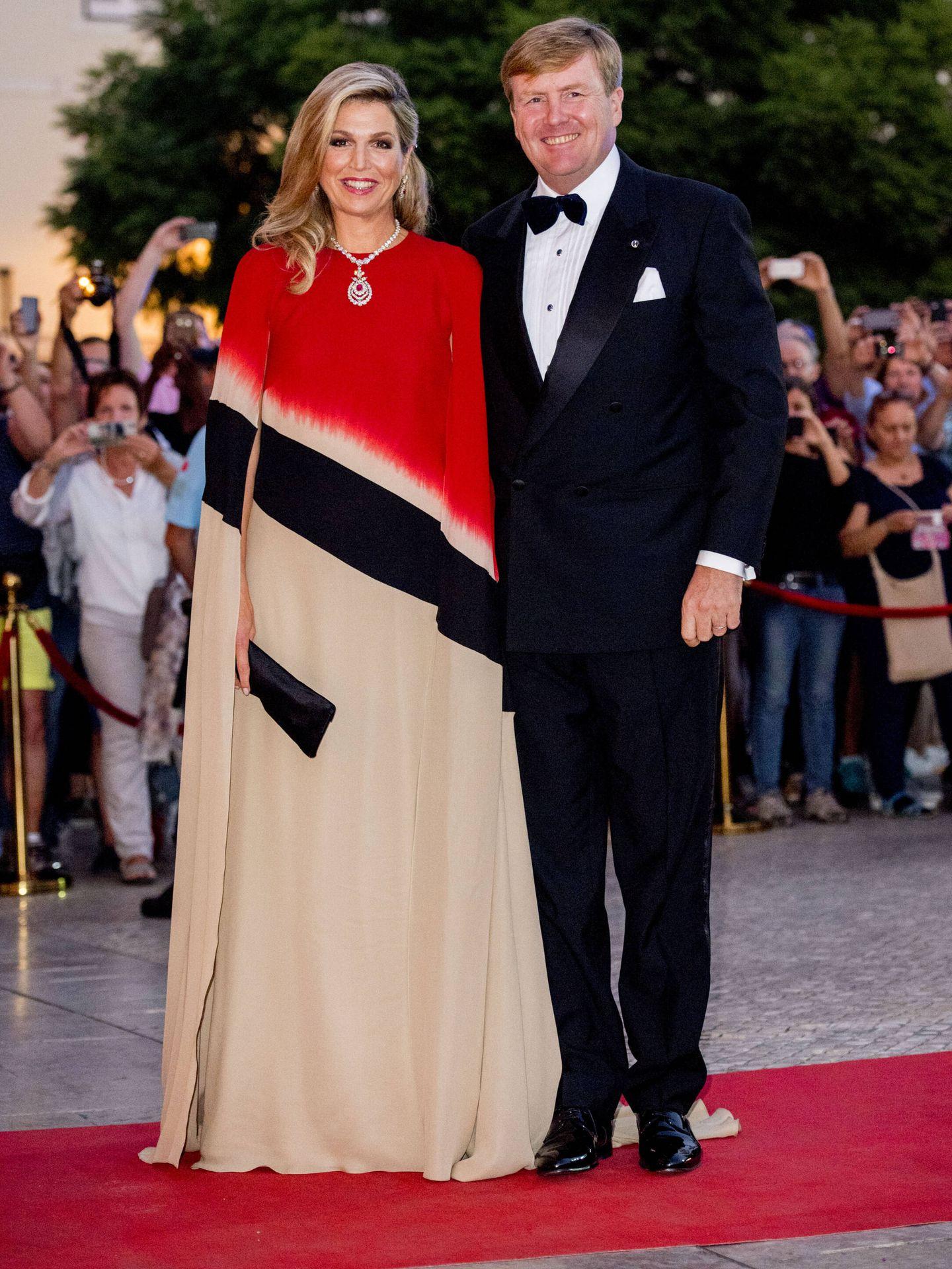 Los reyes de Holanda, en Portugal. (Gtres)