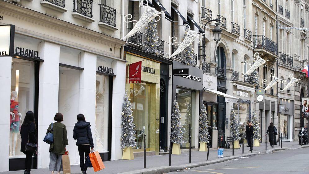 Foto: Calle  Saint-Honoré de París. (Reuters)
