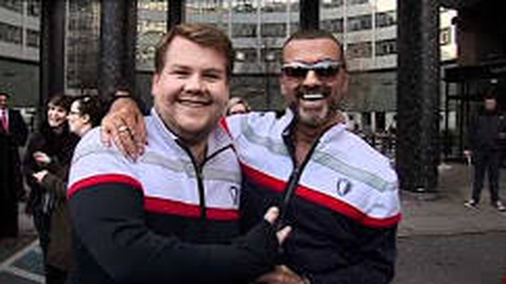 George Michael, el primer protagonista del 'Carpool Karaoke' de James Corden