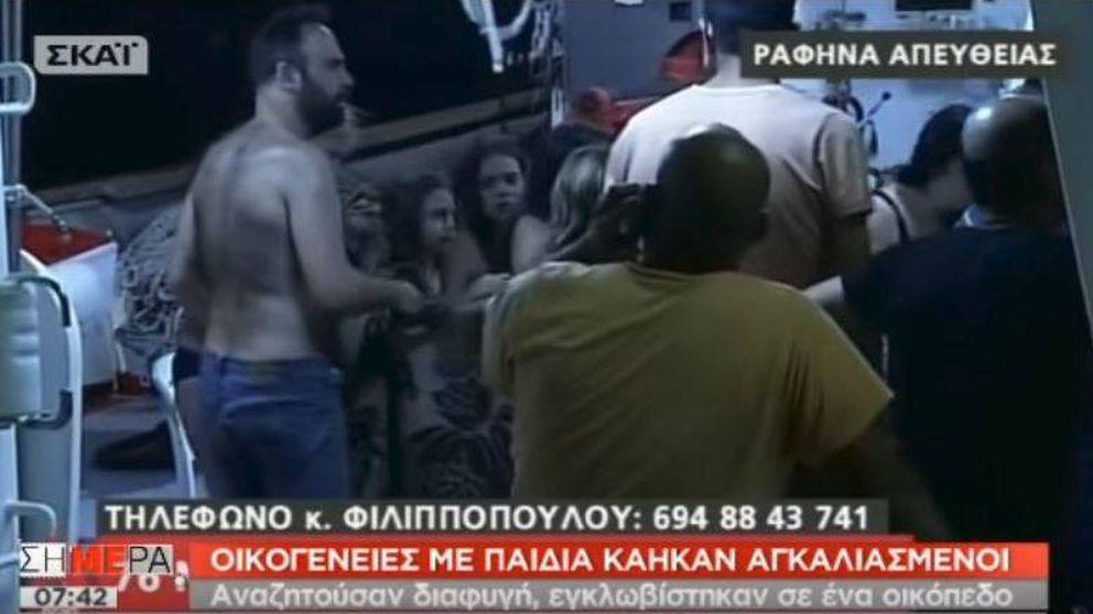 La odisea de un padre en busca de sus hijas gemelas evacuadas del incendio de Grecia