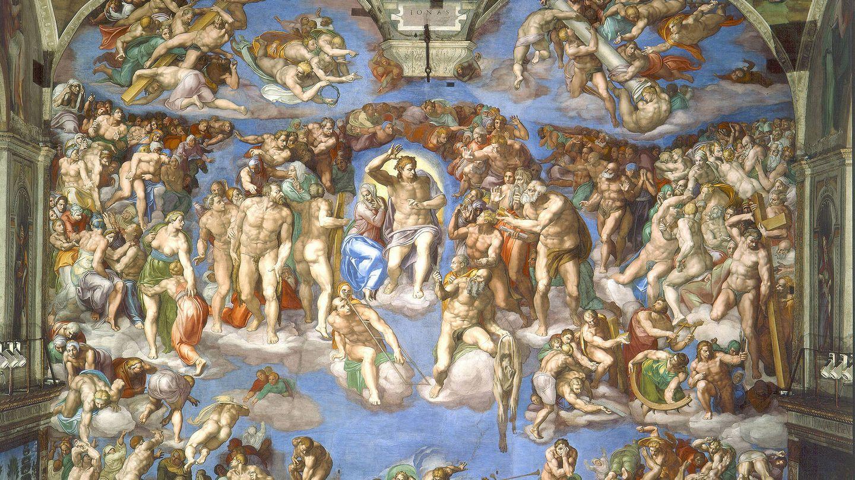 'El juicio final'. Miguel Ángel Buonarroti. 1536-1541. Capilla Sixtina.
