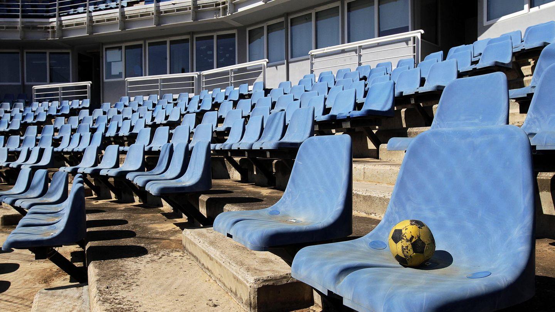 Estadio abandonado donde se celebraron los JJOO de Atenas. (EFE)
