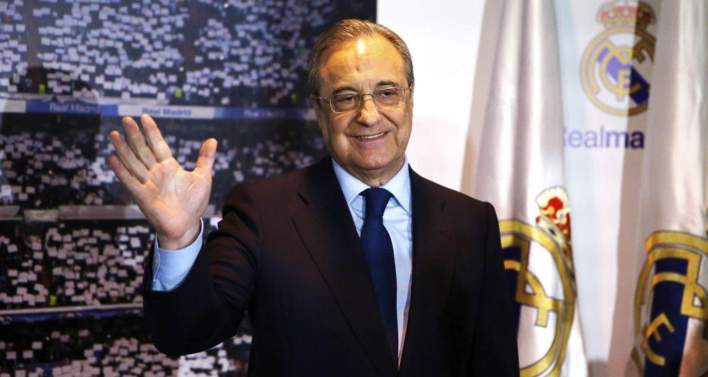 Foto: En la imagen, Florentino Pérez. (EFE)