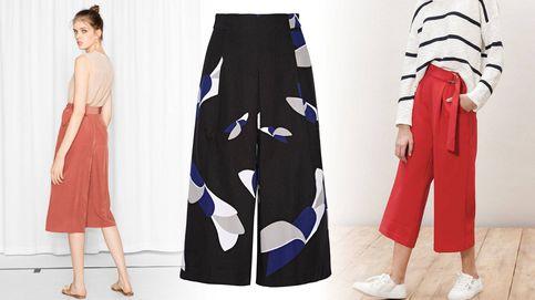 14 culottes perfectos para llevar a la oficina, y a todas partes