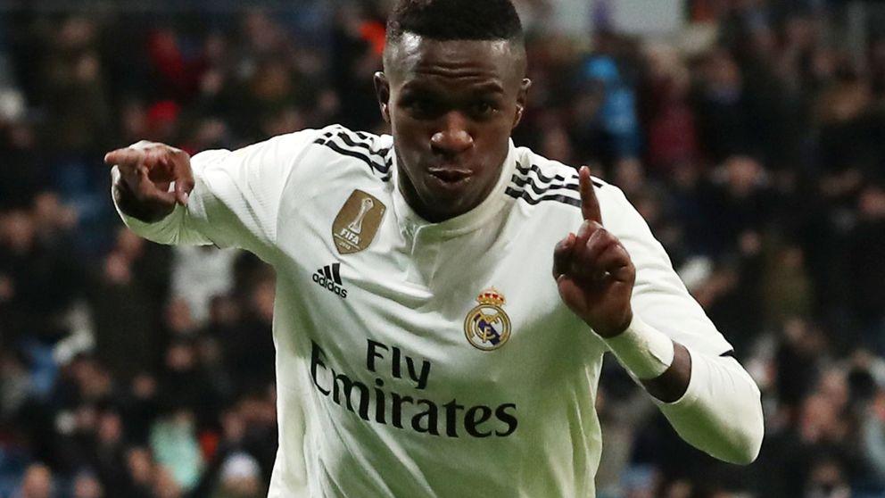 El sorpaso de Vinícius en el Real Madrid y su nuevo papel con Hazard