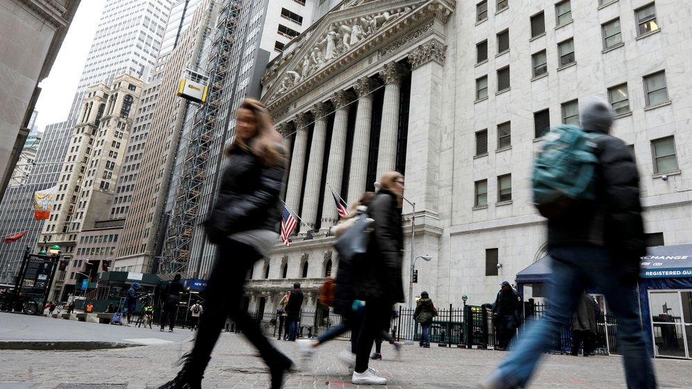 Foto: Imagen del distrito financiero de Nueva York. (R)