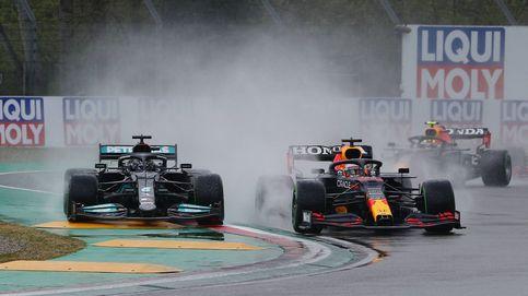 Verstappen reina en Imola y Hamilton soluciona su propio error: Sainz, quinto