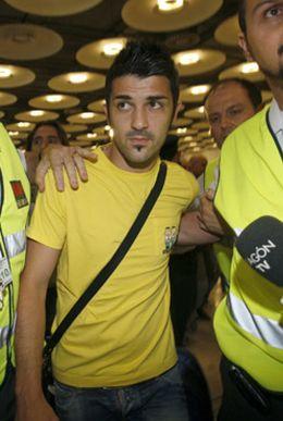 Foto: El Valencia quiere reunirse con Villa lo antes posible