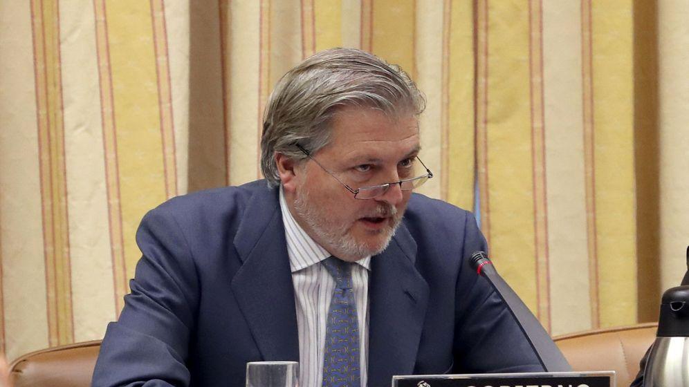 Foto: Comparecencia del ministro de Cultura en la Comisión de Cultura (Efe)