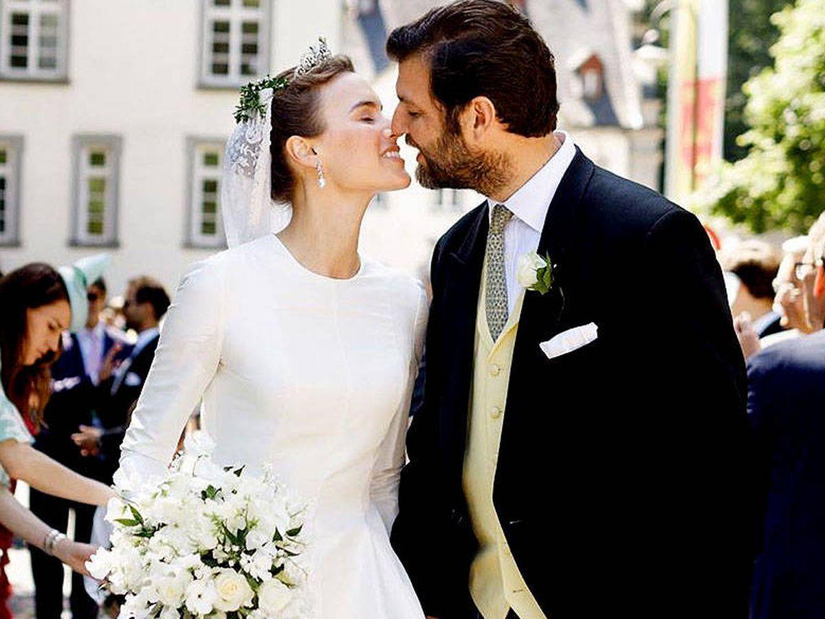 Foto: Boda del príncipe Casimir y Alana Bunte. (Instagram: @miss_acb)