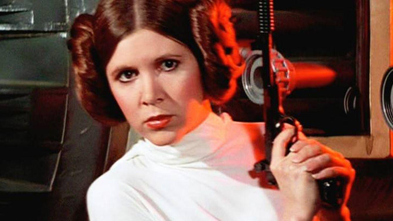 Foto: Imagen de Carrie Fisher como la princesa Leia. (EFE)
