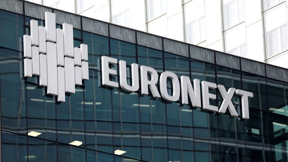 Foto: El logo de Euronext. (Reuters)